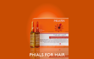 PHIALS FOR HAIR