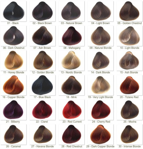 Hair Extension Sample Number 530 Burgundy Of Hair Color